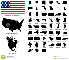 Blank Usa Map by 20 America States Vector Images Tennessee State Outline Vector