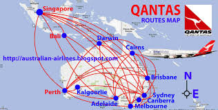 Porter Airlines Route Map by Qantas Routes Map Design Plane