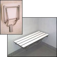 fold down shower bench accessible design