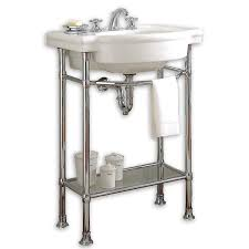Vanity For Bathroom Sink Retrospect 27 Inch Bathroom Console Sink American Standard