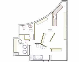 Free Office Floor Plan by Home Office Floor Plan Stunning Split Bedroom With Home Office D