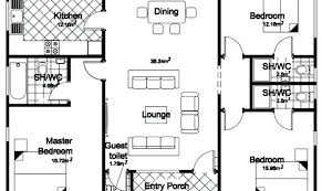 three bedroom house plans simple 3 bedroom floor plans