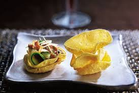 and easy canapes and easy canapé recipes delicious magazine