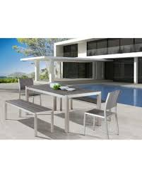 brushed nickel dining table get this amazing shopping deal on zuo metropolitan brushed aluminum