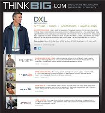 Big And Tall For Mens Clothes Thinkbig Com