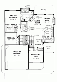 bedroom house plan with double garage plans south cltsd bedroom bungalow house plan with garage design and plans basement american