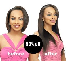clip in hair extensions before and after clip in hair extensions clip in six weave by sassy secret