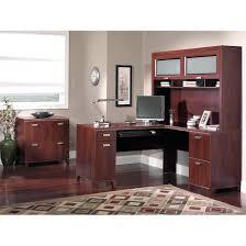 Partner Desk Home Office Enchanting Tuxedo Office Style Partner Desk Home Office Furniture