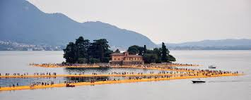 Floating Piers by File Christo Floating Piers 6497 Jpg Wikimedia Commons