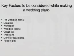 wedding plans wedding planning