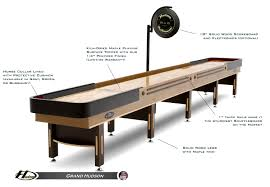 How Long Is A Shuffleboard Table by 22 U0027 Grand Hudson Indoor Shuffleboard Tables Supplies Hudson