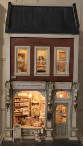 Sweet Coffee Shop France Style Diy Doll House 3d Miniature 8 Best Images About μινιατουρες On Pinterest Curiosity Shop The