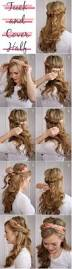 Quick And Easy Hairstyles For Medium Length Hair 33 Cool Hair Tutorials For Summer Diy Projects For Teens