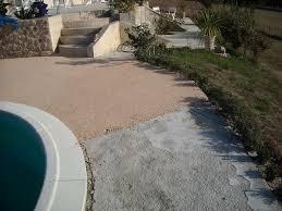 terasse en palette pack granulat resine pour terrasse