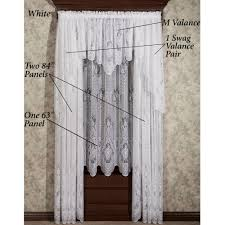 Country French Drapes Decorating French Lace Kitchen Curtains Lace Curtain Irish
