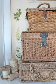 189 best basking in baskets images on pinterest baskets wicker