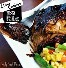 Crock Pot Barbecue Ribs Country Style - slow cooker barbecue ribs family fresh meals