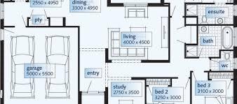 House Floor Plans Single Story Modern House Plans Single Storey