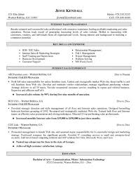 Music Manager Resume Manager Resume Sles 28 Images Retail Sales Manager Resume