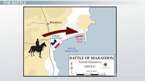Blank Map Of Ancient Greece Battle Of Marathon Summary Facts U0026 Map Video U0026 Lesson