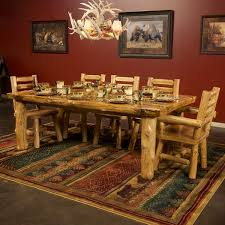 rustic log dining room tables perfect ideas log dining table intricate log dining room furniture