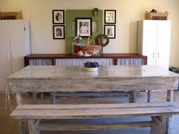 Rustic Dining Tables With Benches Shabby Chic Dining Table Bench Living Room Ideas