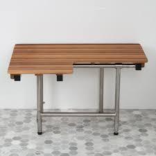 Wooden Bench For Shower Teak Ada Shower Seats Teakworks4u