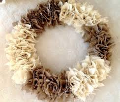 how to make a swatch burlap wreath