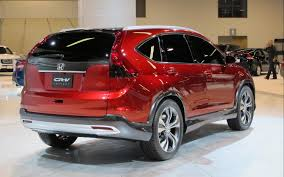 2011 honda cr v special honda debuts cr v concept with new engine in california