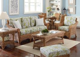 Living Room Wicker Furniture Overwhelming Living Room Home Decor Presents Fabulous Rattan