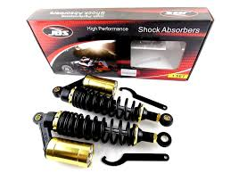 honda gl1100 goldwing 325mm jbs rear air nitrogen cell shock