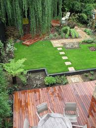 landscape design suburban area 106 photos styles options ideas