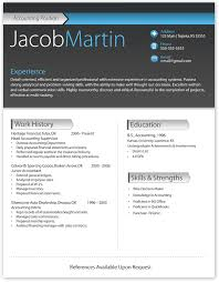 good resume format in word modern resume format resume templates