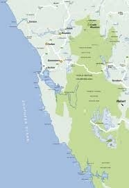 Map Of West Coast Tasmania Family Friendly Accommodation Trip Planner For Families