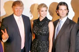 Donald Trump Family Pictures by Donald Trump And Kids Named In 250m Tax Scam