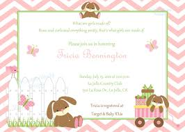 the inspiring collection of bunny baby shower invitations which
