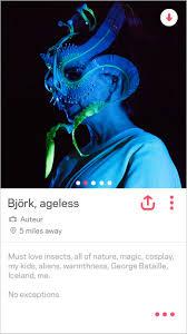 björk says new album is her u0027tinder album u0027