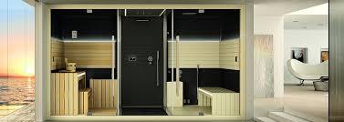 sauna in bagno cabina doccia con sauna e bagno turco jacuzzi