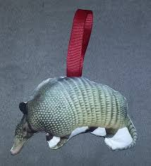 crafter without a cat armadillo ornament