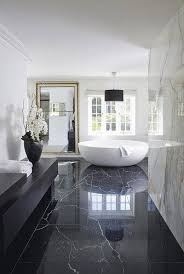 Design Bathroom Modern Black And White Luxury Bathroom Design See More
