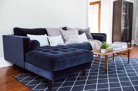 Home Decor Sofa by A Living Room Update Our New Velvet Sofa The Sweetest Occasion