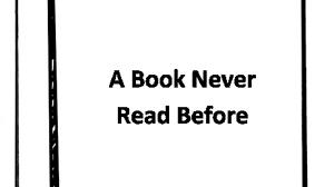 a book never read before by a g grey kickstarter