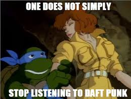 Tmnt Meme - tmnt meme daft punk by marleycake on deviantart