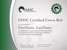 lean six sigma green belt certification online lean six sigma