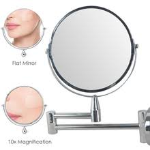 Wall Mounted Magnifying Mirror 10x Online Get Cheap 10x Magnification Mirror Aliexpress Com