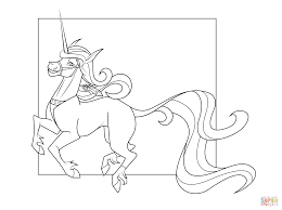 unicorn color page good page coloring pages unicorn with unicorn
