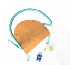 chaise vintage enfant chaise jacques hitier les happyvintage