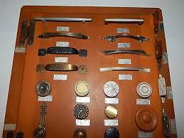 vintage salesman sample cabinet hardware quaker maid kitchens