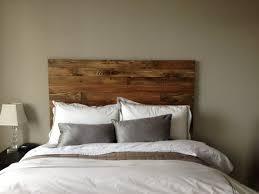 catchy reclaimed wood headboard king king size wood headboard my
