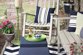 Front Porch Patio Furniture by Hello Spring Front Porch Revamp